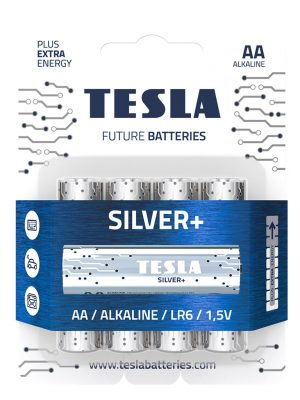 Главная - Tesla Baterie Silver AA 2019 300x400