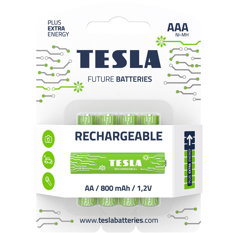Пальчиковые аккумуляторы: какие аккумуляторы типа АА лучше? - tesla baterie rechargeable aaa 2019 11