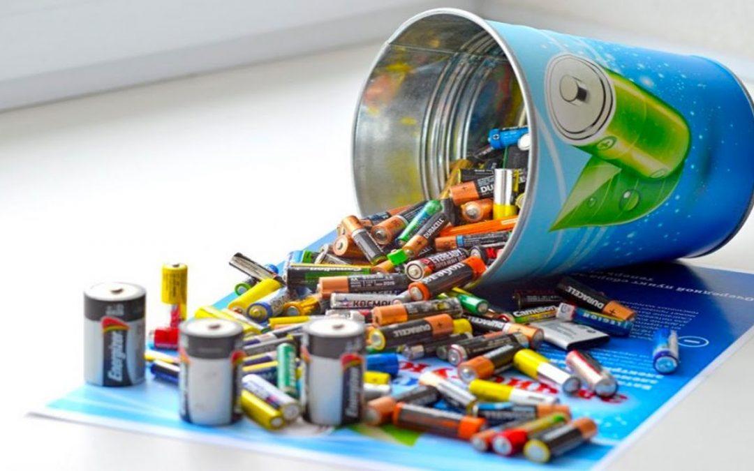 Как должна проходить утилизация батареек