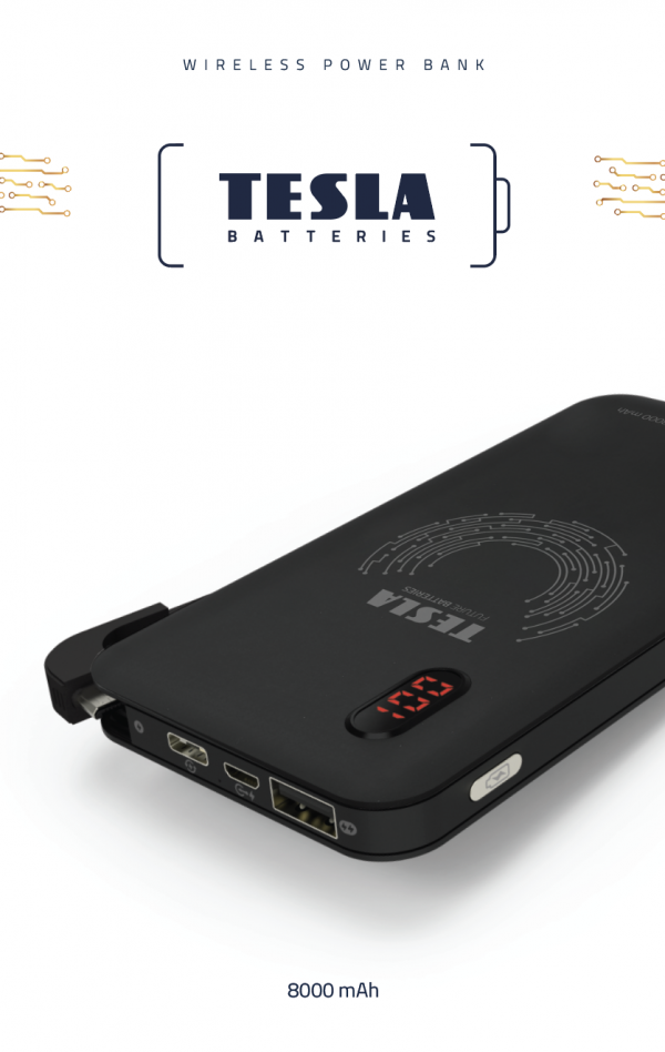 TESLA PB WIRELESS CHARGE