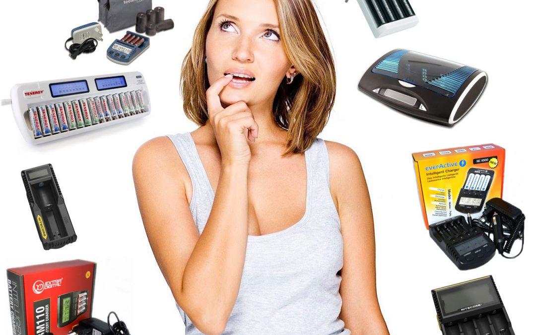Як вибрати зарядний пристрій для акумуляторів?