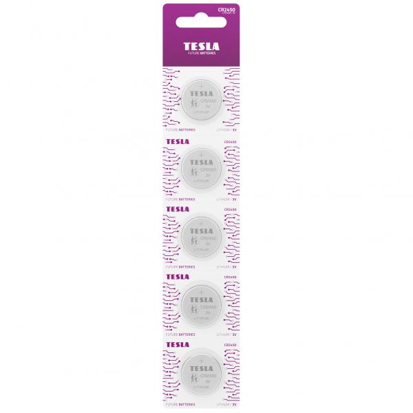 TESLA CR2450 / 3V 5шт. купить