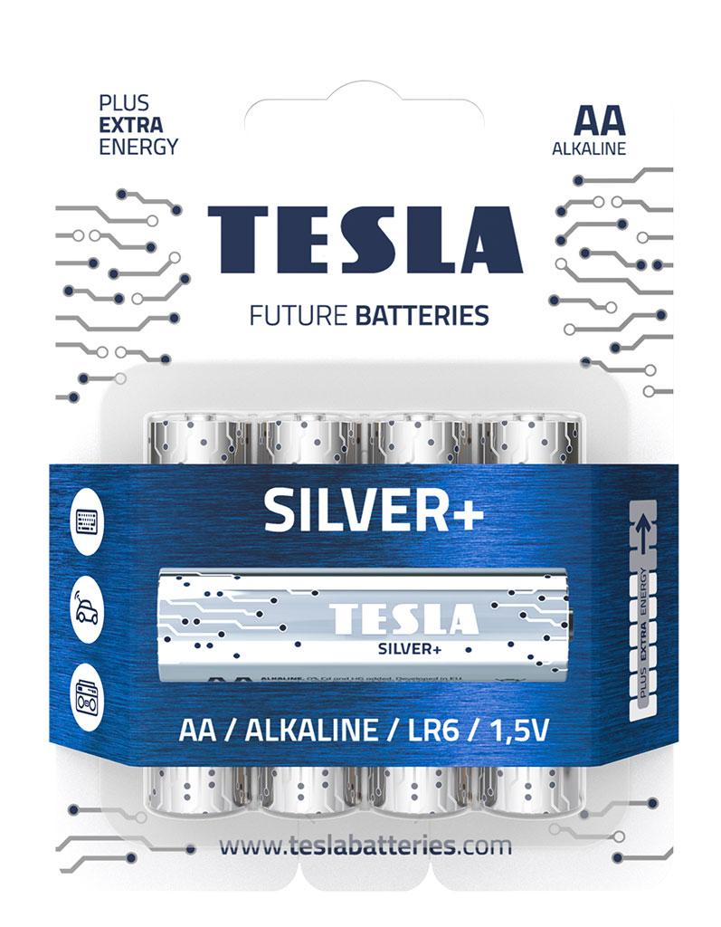 Разница между батареями AA и AAA - tesla baterie silver aa 20191