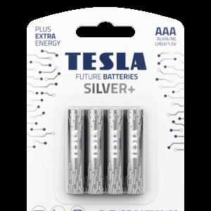 TESLA SILVER AAA blister 4 open transparent 1