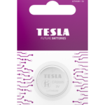 Tesla CR2025 blister 1pc front transparent 1