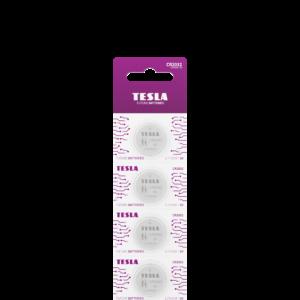 Tesla CR2032 blister 5pc front transparent 1