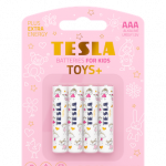 Tesla Toys blister front AAA girl transparent